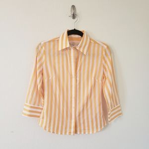 NWT Banana Republic Button Down Workwear Chic Top